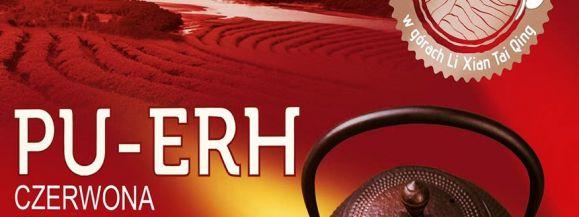 Herbata Pu erh, inaczej zwana czerwoną.