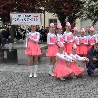 Mażoretki z Krasocina w Ostrowcu